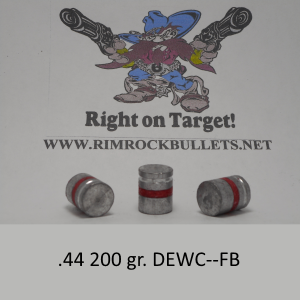 ".44 200 gr. DEWC-FB per 500 ""Anti-Personnel"""