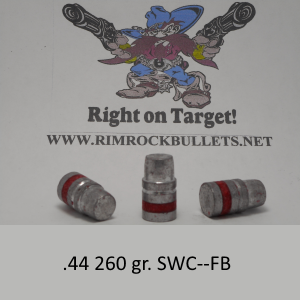 .44 260 gr. Keith SWC-FB per 500